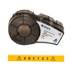 Brady M21-375-595-YL размер ленты: 9,53 mm х 6,4 m винил, цвет маркировки: черный на желтом