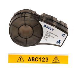 Brady M21-500-595-YL размер ленты: 12,7 mm х 6,4 m, винил, цвет маркировки: черный на желтом