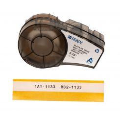 Brady M21-750-427, самоламинирующиеся этикетки, размер ленты: 19,05 мм х 4,3 м (для проводов d 2-3 мм), цвет маркировки: черный на белом