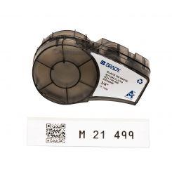 Brady M21-750-499, общая маркировка, маркировка кабеля, размер ленты: 19,05 mm х 4,87 m, нейлон, цвет маркировки: черный на белом