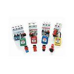 Блокираторы электрических рисков для электроавтоматов, разъемов, кнопок